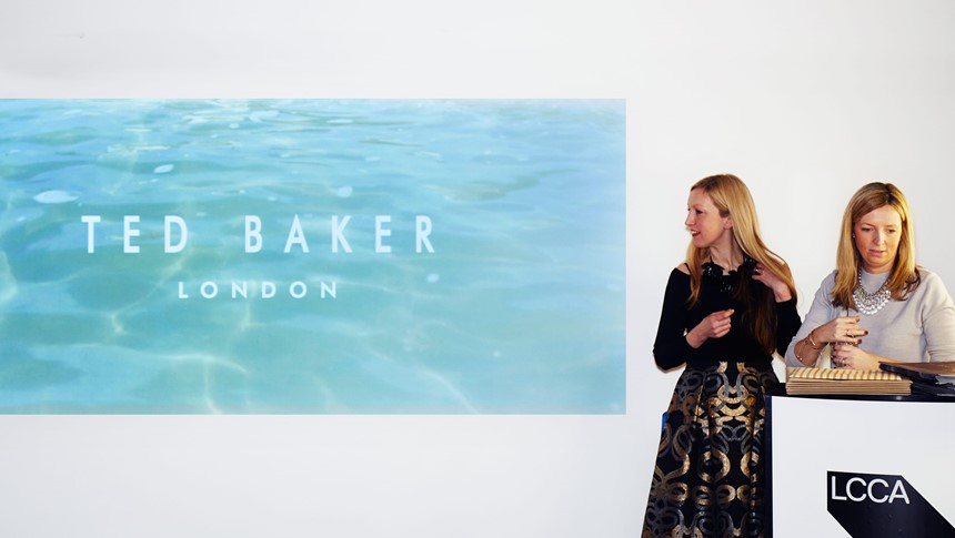 4de7e1b45a6f Ted Baker designers pay visit to The Gallery