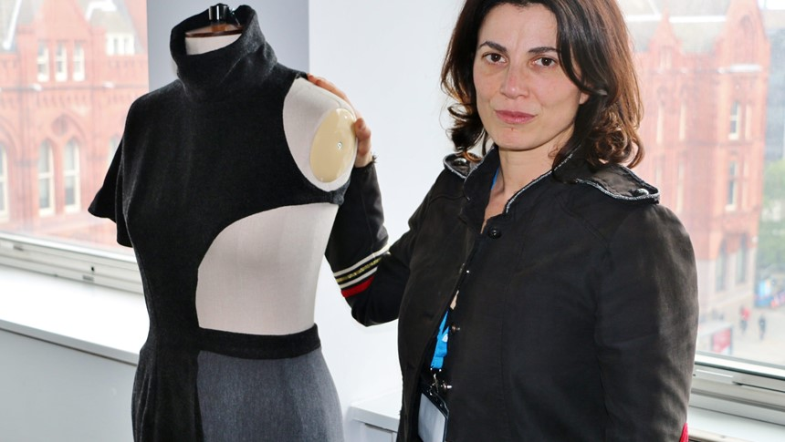 Design and trend forecaster, Marcella Bellocchio, visits LCCA
