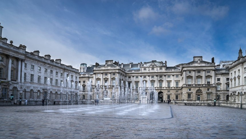 BA Graphic Design students visit Somerset House