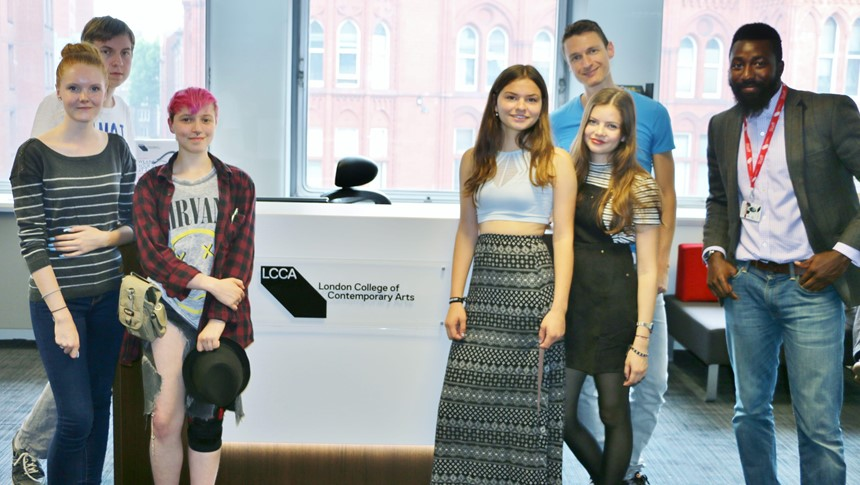 Students from Germany pay visit to LCCA