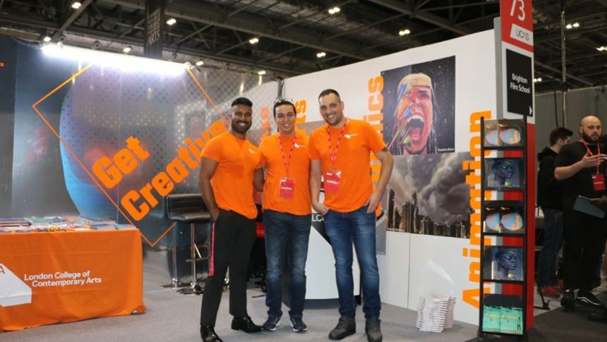 LCCA attends UCAS Higher Education Exhibition 2019 -